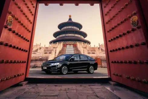 """博瑞轿车改中网_博瑞五周年:""""中国品牌B级车销冠""""的成长之路-人人评车网"""